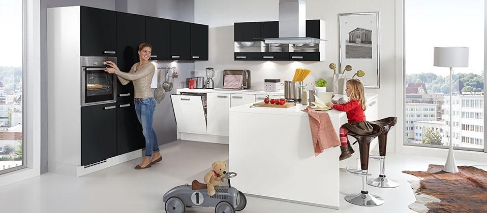 Familienküche mit großzügiger Planung   InterCuisines