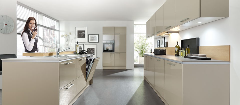 puristische einbauk che f r design fans intercuisines. Black Bedroom Furniture Sets. Home Design Ideas